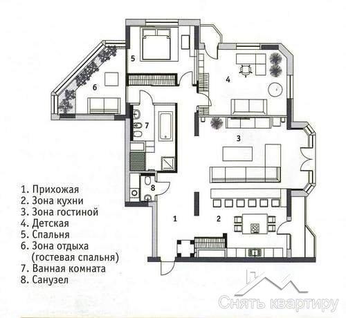 Снять квартиру Щорса 32