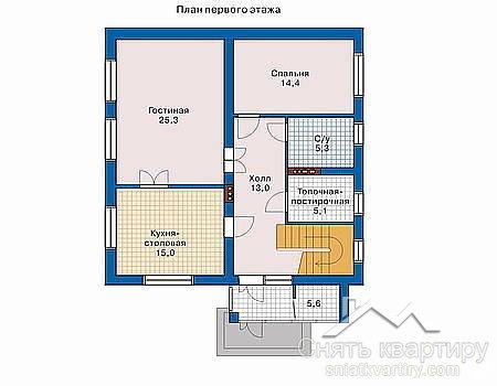 Продажа двухэтажного дома под Киевом в с. Вишенки