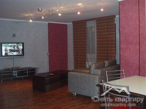 Трехкомнатные апартаменты в аренду улица Окипной Раисы 10 ЖК Приднепровский